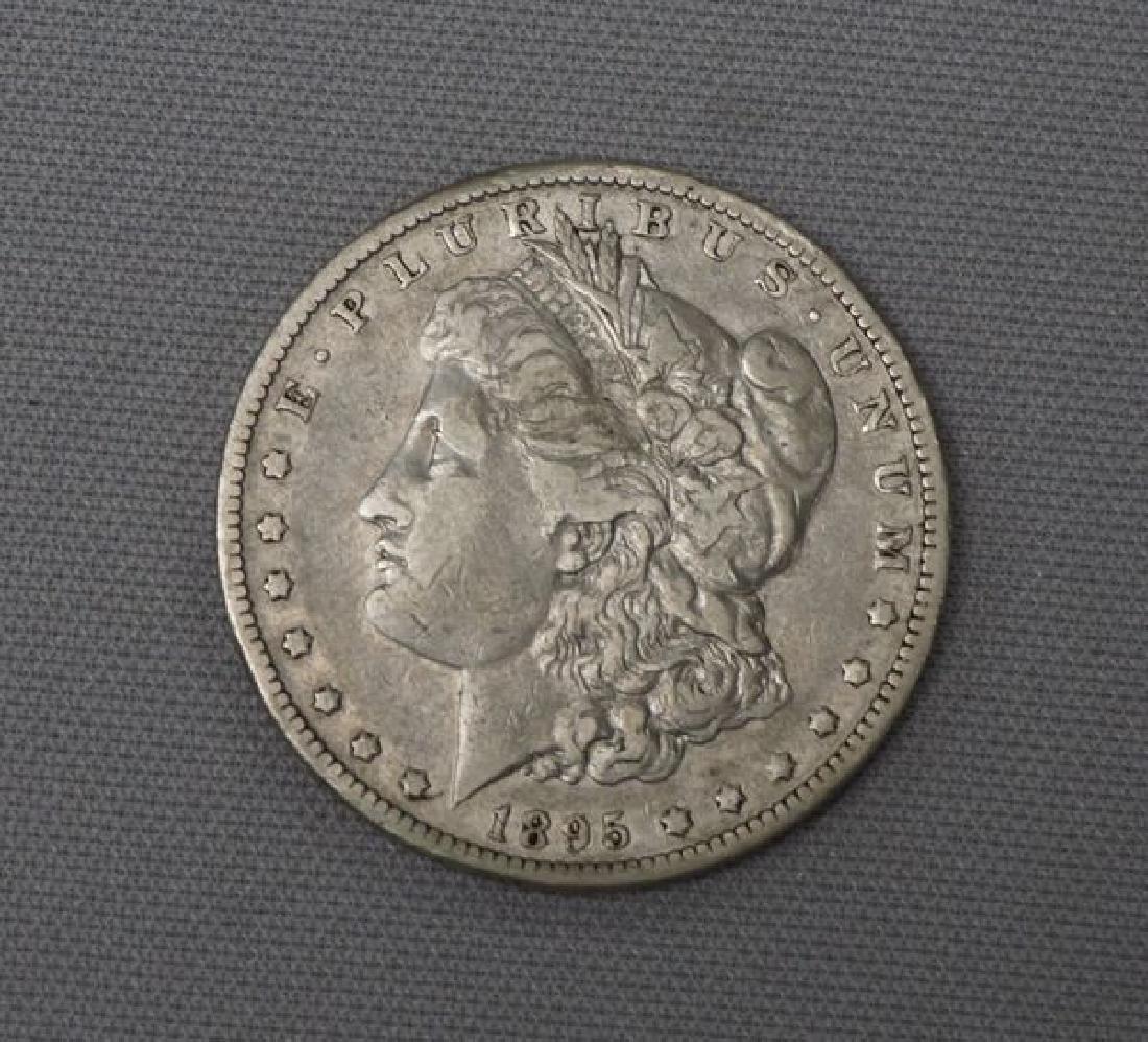 1895-0 MORGAN DOLLAR: