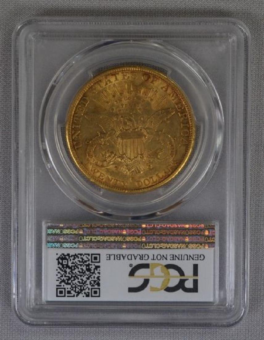 1892-S CORONET HEAD $20.00 GOLD: - 4