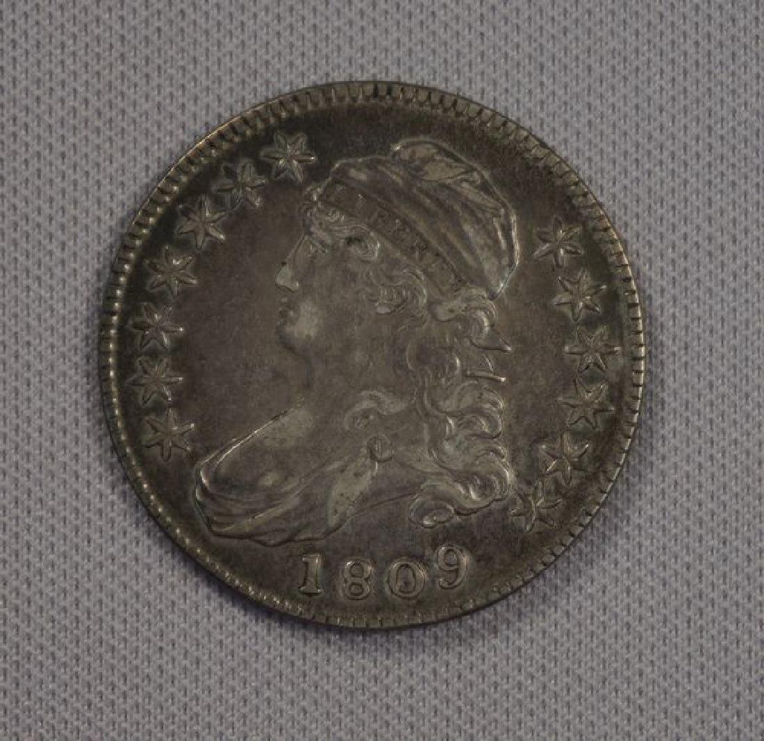 1809 CAPPED BUST HALF DOLLAR: