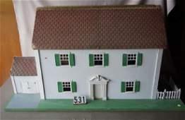 LARGE SIZE SCHOENHUT DOLL HOUSE,