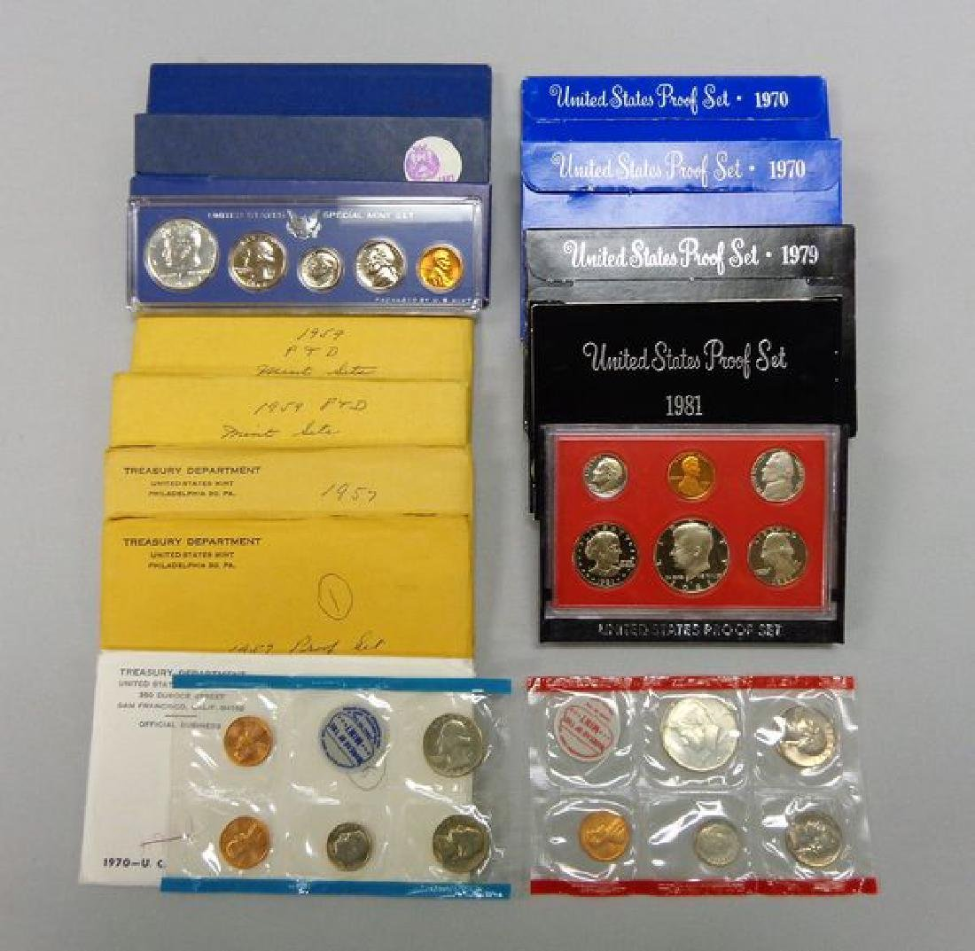 U.S. PROOF & MINT SETS: