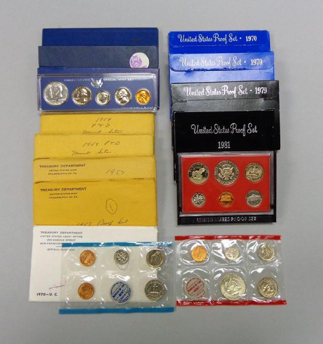 U.S. PROOF & MINT SETS: - 2