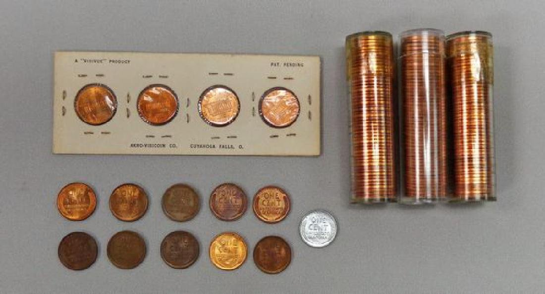 LINCOLN CENT LOT: - 2
