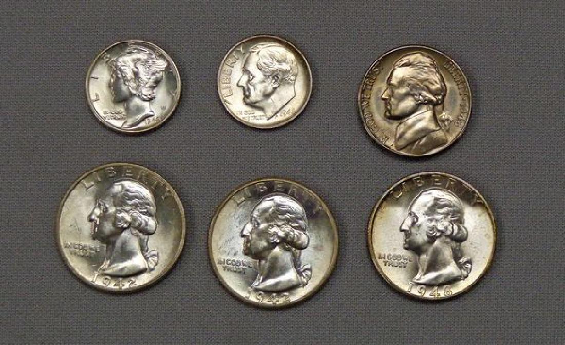 U.S. COIN SET: - 2