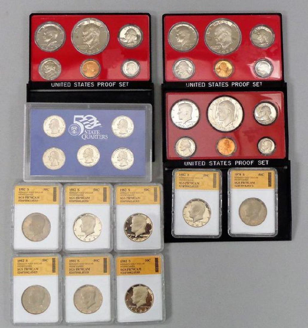 PROOF STATE QUARTERS, PROOF SETS