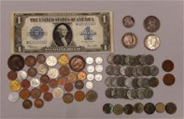 ESTATE LOT OF US  FOREIGN COINS