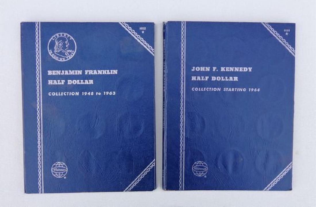 FRANKLIN & J.F.K. HALF DOLLARS COLLECTION: - 4