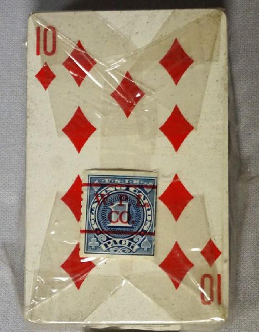 VINTAGE DECK OF PLAYING CARDS - 6