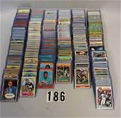 BOX WITH 400 FOOTBALL STAR  HOFER CARDS