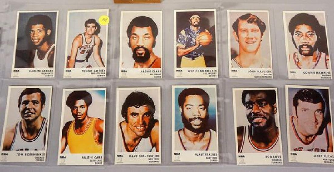 1972 ICEE BEAR (20) CARD BASKETBALL SET - 2