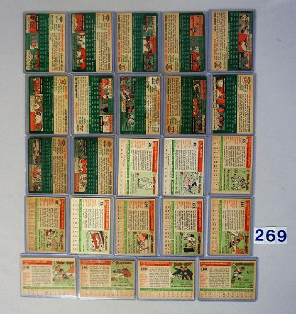 (12) 1954 TOPPS BASEBALL CARDS - 2