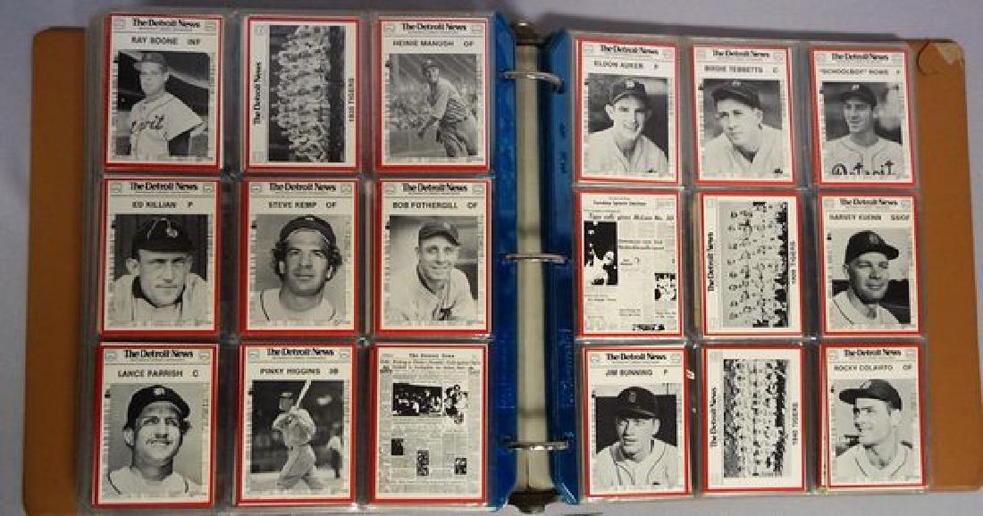 BINDER WITH KELLOGG'S BASEBALL CARDS: - 5