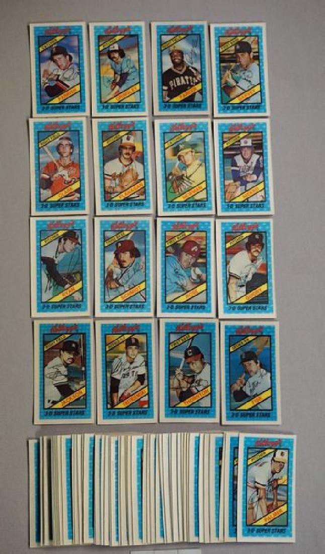 BINDER WITH KELLOGG'S BASEBALL CARDS: - 8