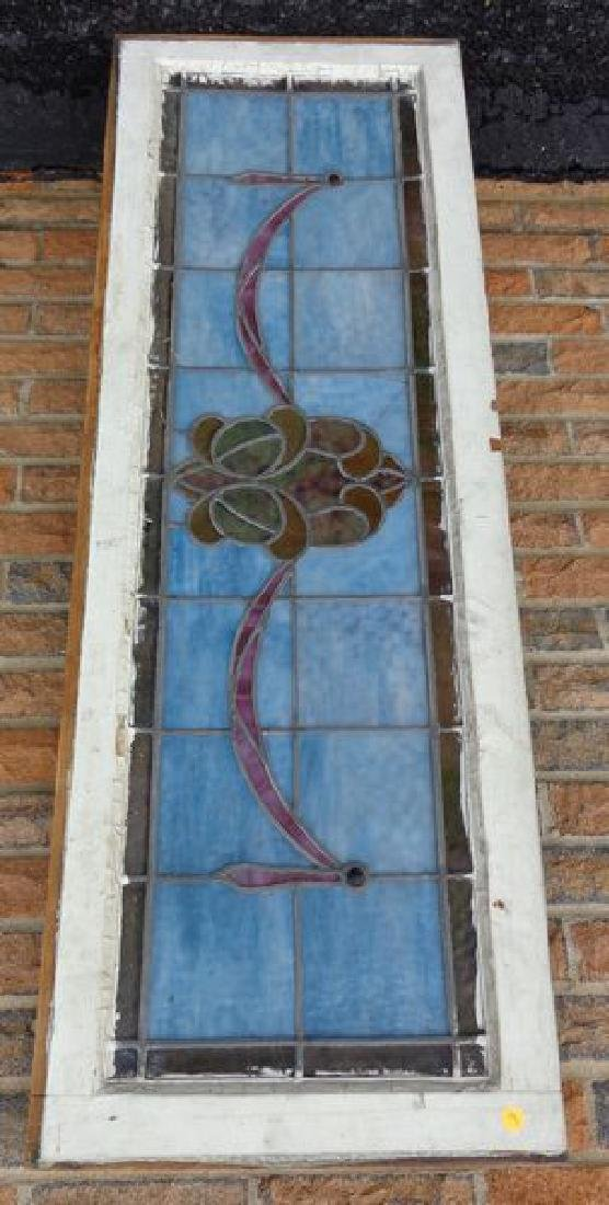 STAINED GLASS WINDOW PANEL: - 3
