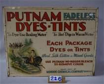 PUTNAM FADELESS DYES-TINTS TIN