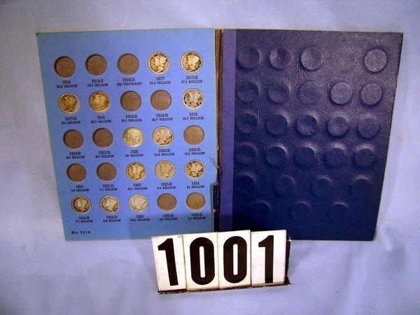 1001: (59) SILVER MERCURY DIMES