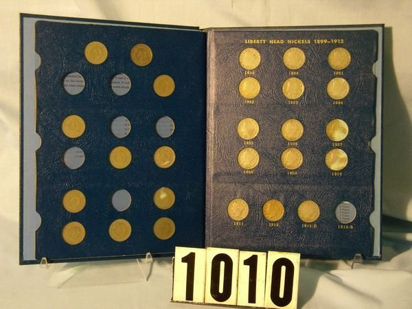 1010: BOOK W/26 LIBERTY NICKELS