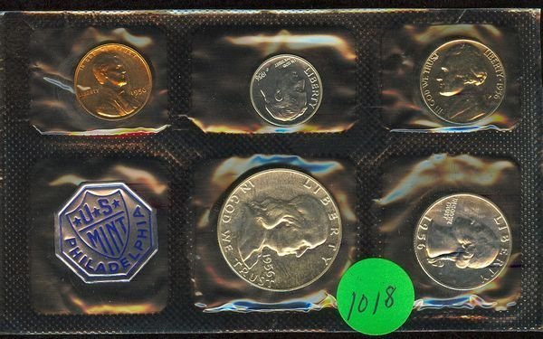 1018: 1956 U.S. PROOF SET