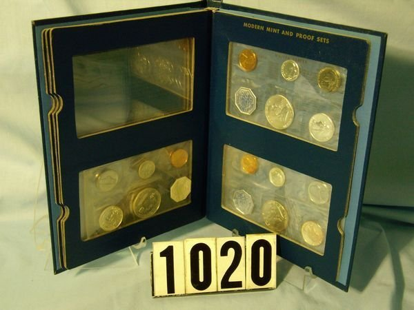 1020: 1959, '60 & '61 U.S. PROOF SETS