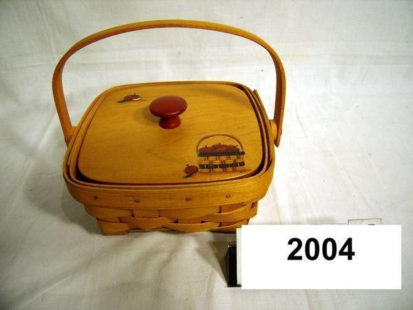 2004: Longaberger: 1997 Md BERRY W/PROT, Non-Lgbr Lid