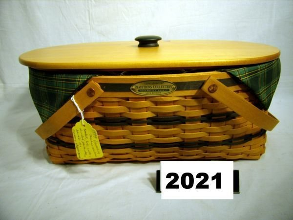 2021: Longaberger: TRADITIONS COLLECTION 1999 GENEROSIT
