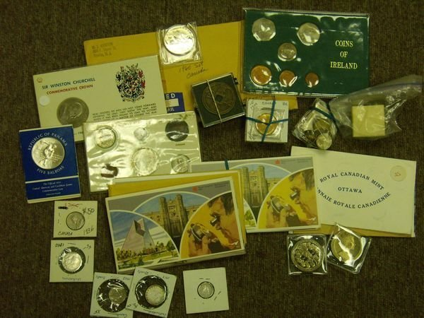 1007: Estate Lot of Foreign Coins