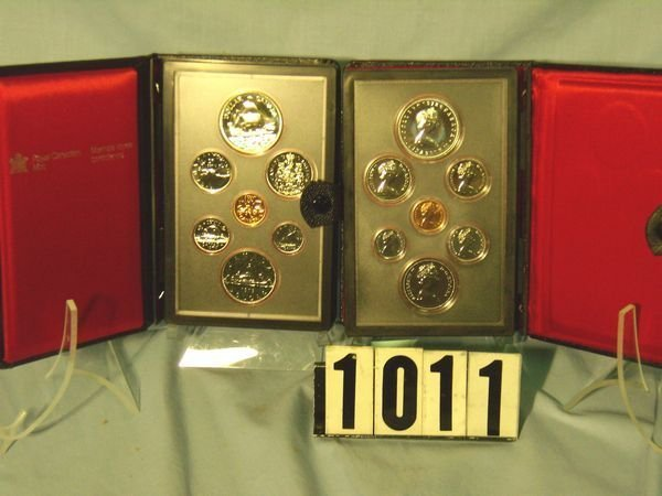 1011: 1978 & 79 Canadian Double Dollar Prooflike Sets