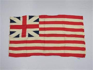 GRAND UNION CONTINENTAL REPLICA FLAG: