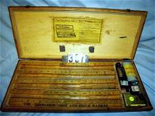397 Antique Wooden The Excelsior Sign  Price Markers