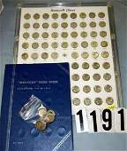 1191 WHITMAN FOLDER W70 MERCURY DIMES AND 97 ROOSEVEL