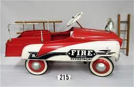 MURRAY FIRE DEPARTMENT PEDAL CAR: