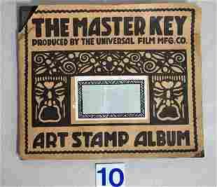 THE MASTER KEY ART STAMP ALBUM,