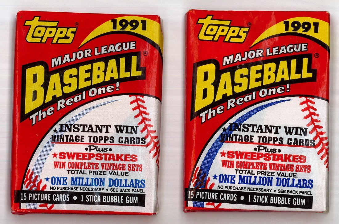 (2) TOPPS DESERT SHIELD (UNOPENED) WAX PACKS: