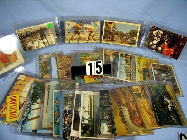 """1015: LOT OF FORTY-ONE (41) ASSORTED """"BLACK"""" MEMORABILI"""