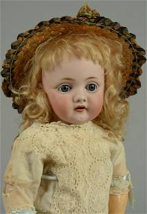 KESTNER GIRL WITH OPEN MOUTH - 143 MOLD 15 IN.