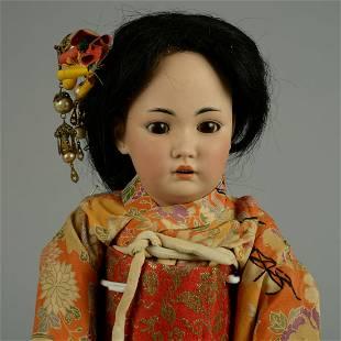 SIMON & HALBIG 1329 ASIAN GIRL 15 IN.
