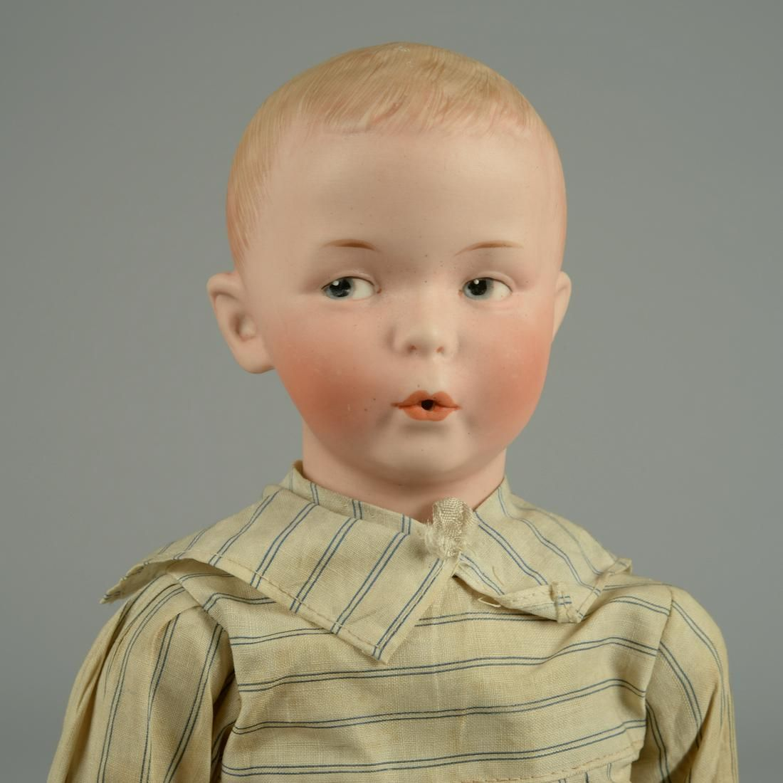 HEUBACH 8774 'WHISTLING JIM' CHARACTER DOLL 15 IN.