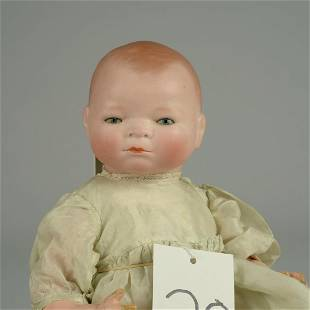 RARE BYE-LO BABY WITH SOCKET HEAD 13 IN.