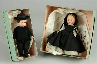 TWO BOXED MADAME ALEXANDER ALEXANDER-KINS: