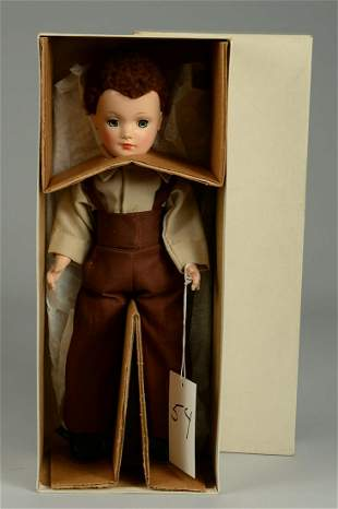 BOXED MARY HOYER AMISH BOY 14 IN.