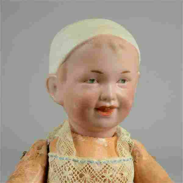 RECKNAGEL CHARACTER TODDLER WITH MOLDED HAT 10 IN.