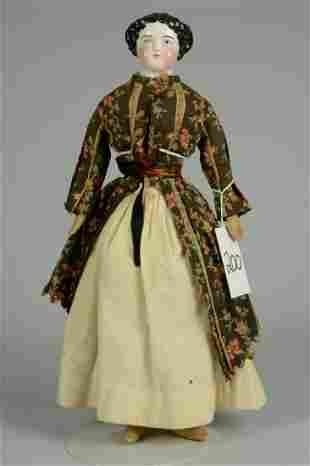 GERMAN HIGH BROW CHINA DOLL 20 IN.