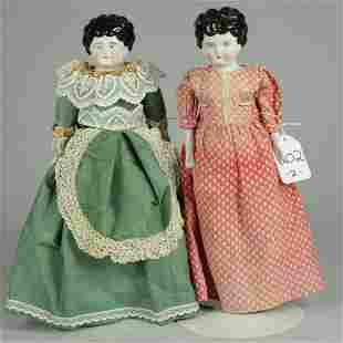 LOT OF 2 LOW BROW CHINA DOLLS 16 IN.