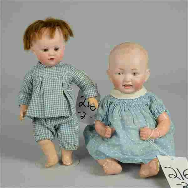 LOT OF 2 GERMAN CHARACTER BABIES