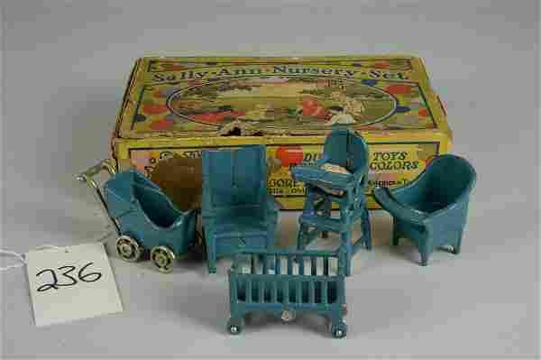 BOXED KILGORE SALLY ANN NURSERY SET