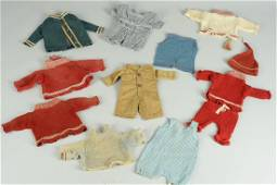 LOT OF ANTIQUE TEDDY CLOTHING