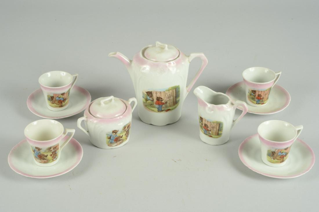 GERMAN PORCELAIN CHILDS TEA SET