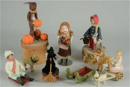 LOT OF VINTAGE HOLIDAY CANDY BOXES
