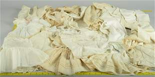 APPROX. 50 PCS OF VINTAGE & ANTIQUE DOLL UNDERWARE