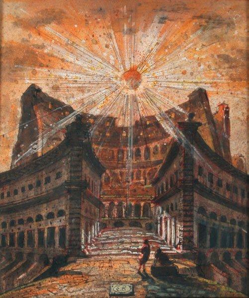 1: Eugene Berman, The Colosseum